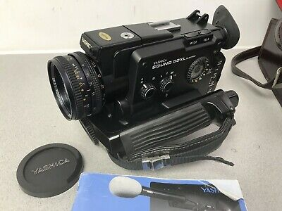 Yashica Sound 50XL MACRO Super 8 Cine film camera