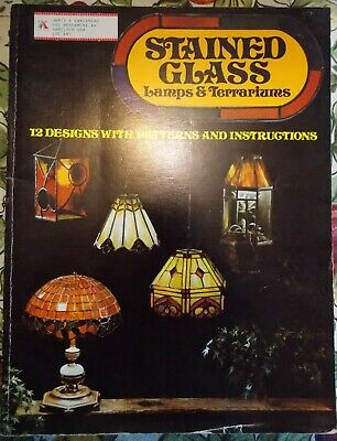 Stained Glass Lamps & Terrariums Pattern Book