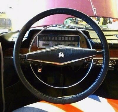 Leather Steering Wheel Cover / Glove Vauxhall  Velox Cresta Viscount  Pb Pc