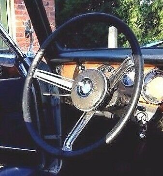 LEATHER STEERING WHEEL COVER / GLOVE BMW 1 2 3 series 1800 2000 1602 2002 ti CS