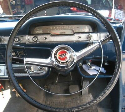 CLASSIC LEATHER STEERING WHEEL COVERS  (GLOVES) - FORD CONSUL ZEPHYR ZODIAC Mk2