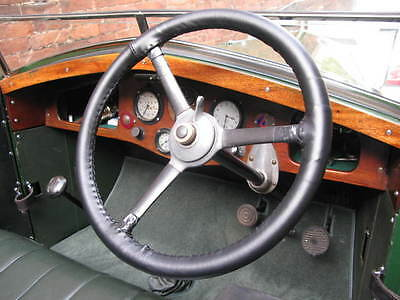 Traditional Leather Steering Wheel Covers / Gloves - Veteran & Vintage Cars