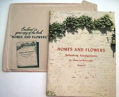 "1942 Booklet ""Homes & Flowers - Refreshing Arrangements "" A Coca-Cola Promotion*"