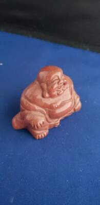 "Laughing Buddha Statue Figurine 2"" Tall Happy Monk"