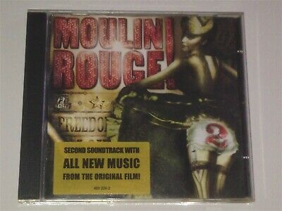 MOULIN ROUGE 2+Second Soundtrack with All New Music from the Original Film CD