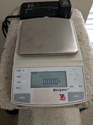 OHAUS Navigator Swiss digital scale N0H110 8kg range 0.5g resolution multi mode