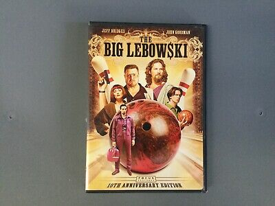 The Big Lebowski (DVD, 2008, 2-Disc Set) 10th Anniversary Edition. A CLASSIC!