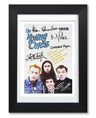 The Young Ones Cast Signed Poster Print Bbc Tv Series Photo Autograph Dvd Gift