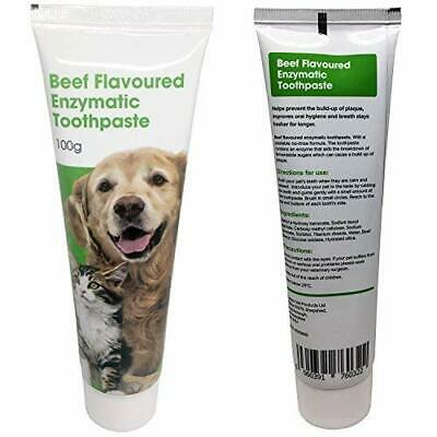 Petstoreo Beef Flavoured Enzymatic Cat and Dog Toothpaste for plaque 100g