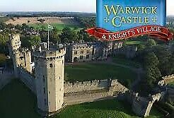 4 x WARWICK CASTLE TICKETS SATURDAY 30 JULY 2019 30/7/19 FOR ADULT OR CHILD