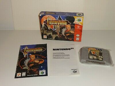 Castlevania (Nintendo 64, 1999) Complete in Box Complete TESTED