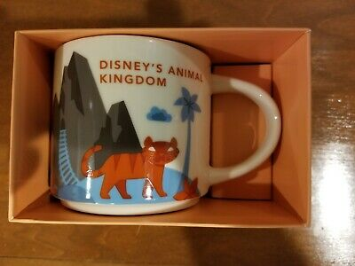 Animal Kingdom Starbucks You Are Here Collection Mug Disney World Parks