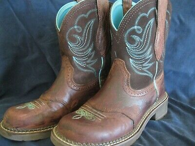 57c9cf47d18 ARIAT LADIES FATBABY Heritage Dapper Western Boots 10016238 - $89.95 ...