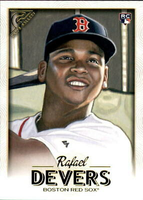 2018 Topps Gallery Rafael Devers Rookie Mint Hot