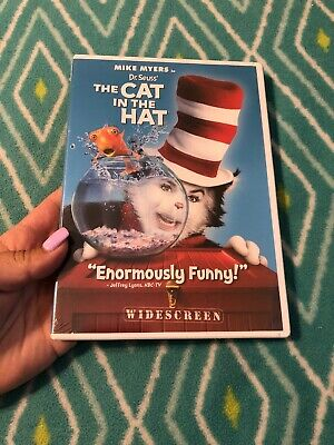 Dr. Seuss The Cat in the Hat (DVD, 2004, Wide Screen Edition) New•••