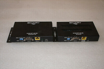Binary 1080p Extender with IR Receiver & Transmitter P/N: B-520-EXT-230-RS