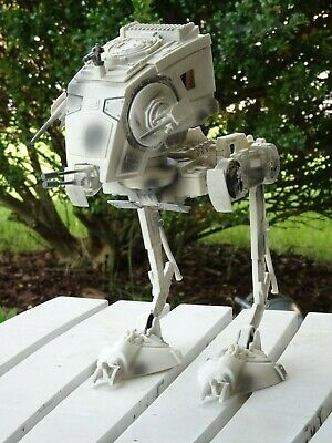 2002 Star Wars Collectibles Hoth AT-ST Scout Walker Vehicle Hasbro