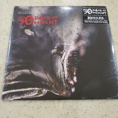 Brian Reitzell 30 Days Of Night RSD exclusive limited red vinyl 2LP  NEW/SEALED