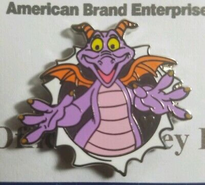 Disney Pin WDW 2019 Hidden Mickey Figment Poses Popping Out Of The Screen TRADED