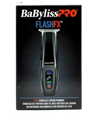 Babyliss Pro FlashFX59 Cordless Lithium Trimmer Brand New In Box