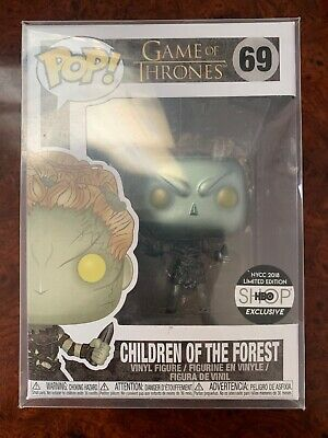 Funko Pop #69 Game Of Thrones Metallic Children Of The Forest HBO with Protector