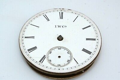 I. W. Co. Pocketwatch Watch Movement for parts or repair