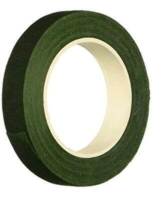"""New 1/2"""" x 60ft  Floral Tape Self-Sealing Tape Dark Green Floral Craft RS9663"""