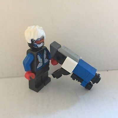 Official Overwatch Soldier: 76 Lego Minifigure with Heavy Pulse Rifle