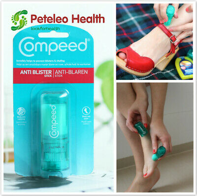 COMPEED Anti Blister Stick for Foot Chafing Pain Cream Friction lubricating Heel