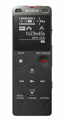 Sony ICD-UX560 Stereo Digital Voice Recorder with FM Radio Tuner Built-In USB