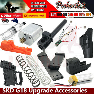 UPGRADE SKD G18 Plunger Spring HOP UP Battery Magazine Gel Blaster GLK GLOCK 18