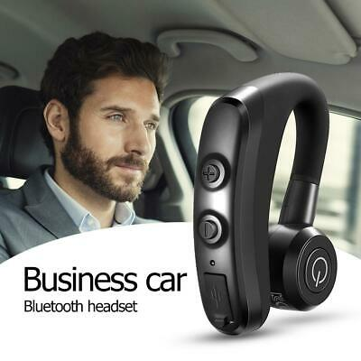 V9 Handsfree Wireless Business Bluetooth Headset with Mic for Driver Sports