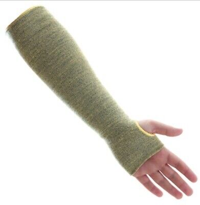 18 Inch Kevlar Sleeves (5 pairs) For Welding Grinding Cutting Safety EH&S 1 Size