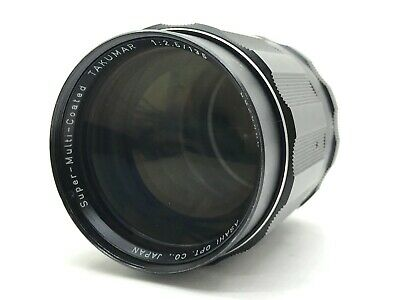 【Rare 6 elements】 Pentax Super Takumar 135mm F2.5 Lens M42 From Japan 615