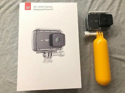 YI 4K+/60fps Action Camera w/ Waterproof Case + 64GB SD + Extras in Original Box