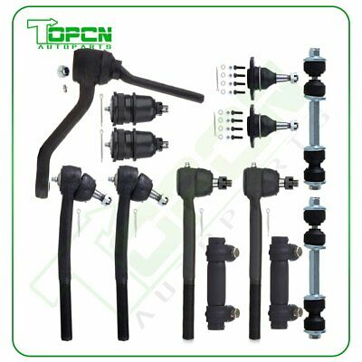 12 Pcs steering Kit Front Lowe/&Upper Ball Joint for 1978-1996 Chevrolet Impala