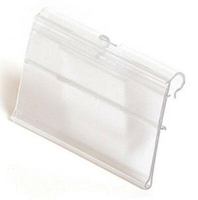 Scanner Hook Label Holder 3w x 1-1/4h Inches - Count of 100