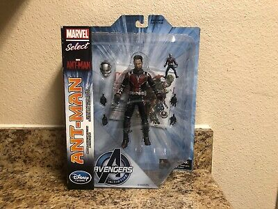 """marvel select ant-man Movie Version 7""""action Figure Disney Store Exclusive"""