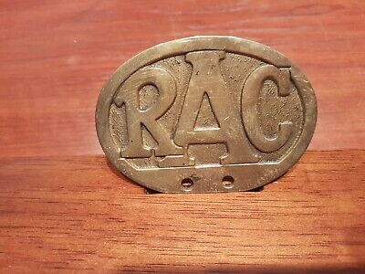Rare Oval Commercial Vehicle Car Badge- Royal Automobile Club.