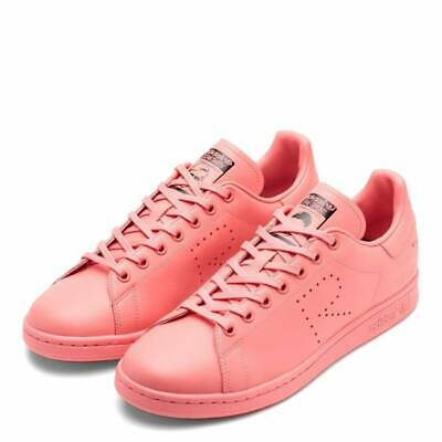 ADIDAS BY Raf Simons Women's Bright Pink Raf Simons Stan Smith Lace up Trainers