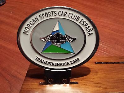 Transpirenaica meeting Morgan Sport Car Club Spain in 2008.