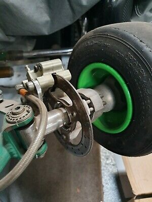 Tony Kart OTK Go Kart SA3 Hand Operated Complete Front Brake Kit