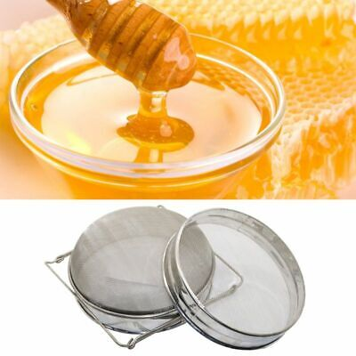 Beekeeper Tool Honey Strainer Double Sieve Stainless Steel Bee Keeping Filter