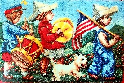 "Craftways  Latch Hook Rug  Kit  ""Little Marching Band"""