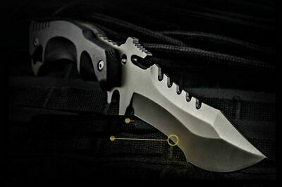 HX OUTDOORS Survival Knife Army Hunting 58hrc Hardness Straight Knives Essential