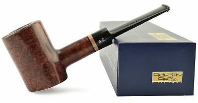 """NEW Briar Wood Tobacco Smoking Pipe straight """"Poker Classic R"""", wooden, ~ 5-3/8"""""""