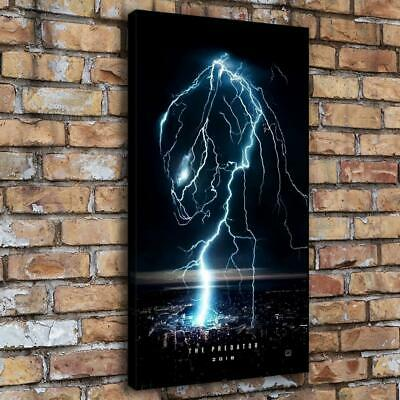"Predator 2018 Lightning Home Decor Room HD Canva Print Picture Wall Art 16""x30"""