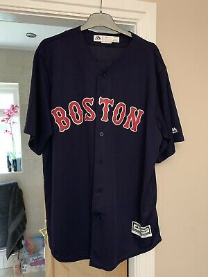 Boston Red Sox Coolbase Jersey #50 Betts Large Majestic