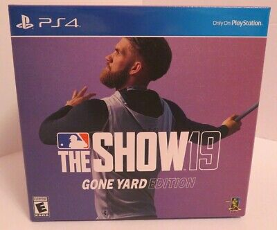 MLB The Show 19: GONE YARD Edition (PlayStation 4) BRAND NEW SEALED PS4 Baseball