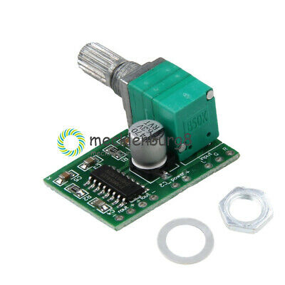 PAM8403 5V 2 Channel USB Power Audio Amplifier Board 3Wx2W Volume Volume Control